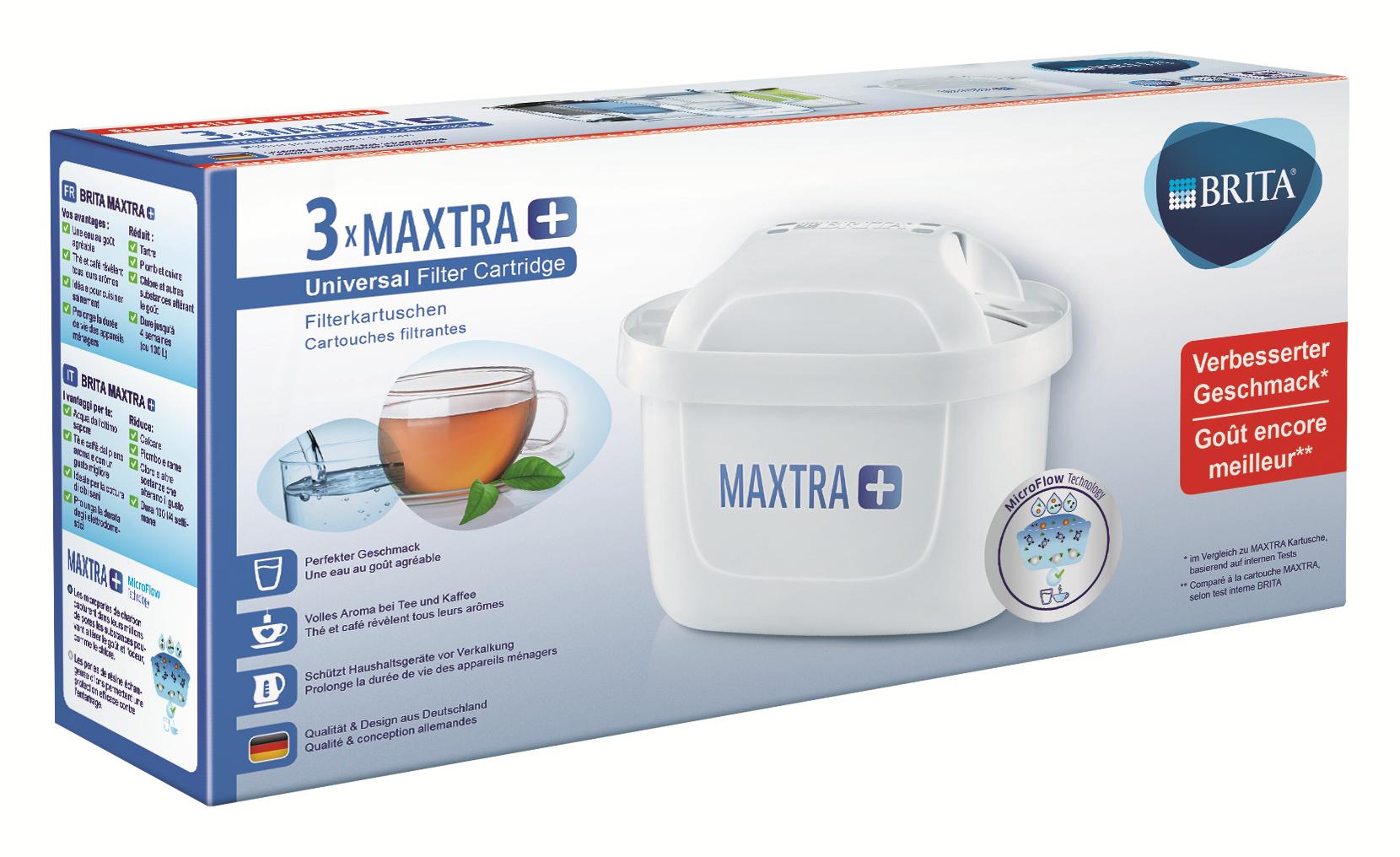 BRITA Maxtra+ 3 Wasserfilterkartuschen 14,99 (Penny) - kleine Übersicht -
