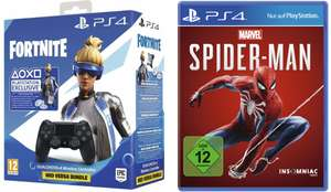 Sony DualShock 4 V2 Fortnite Neo Versa Bundle + Marvel's Spider-Man (PS4) für 59,99€ inkl. Versand