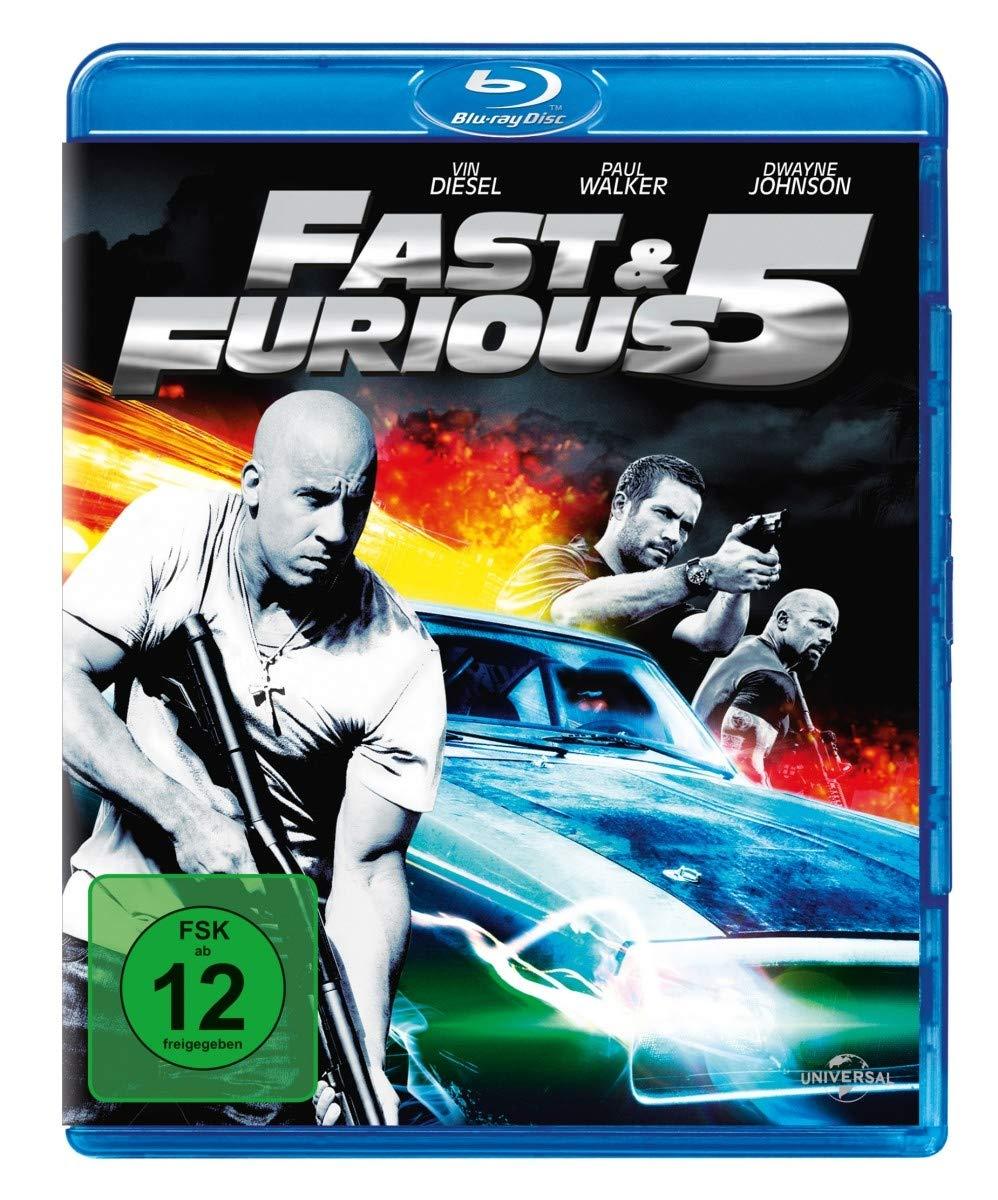 Fast & Furious 5 (Blu-ray) für 3,66€ (Dodax)