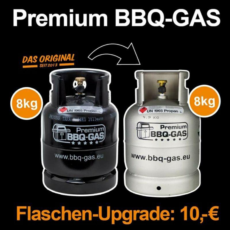 [Lokal Dortmund] Austausch einer schwarzen 8kg BBQ Gas Flasche gegen eine Alu BBQ Gas Flasche