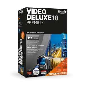 MAGIX Video Deluxe MX Premium Sonderedition (Version 18) für nur 59,99 EUR inkl. Versand!