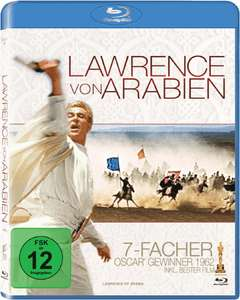 Lawrence von Arabien (2 Disc Blu-ray) für 5,97€ (Amazon Prime)