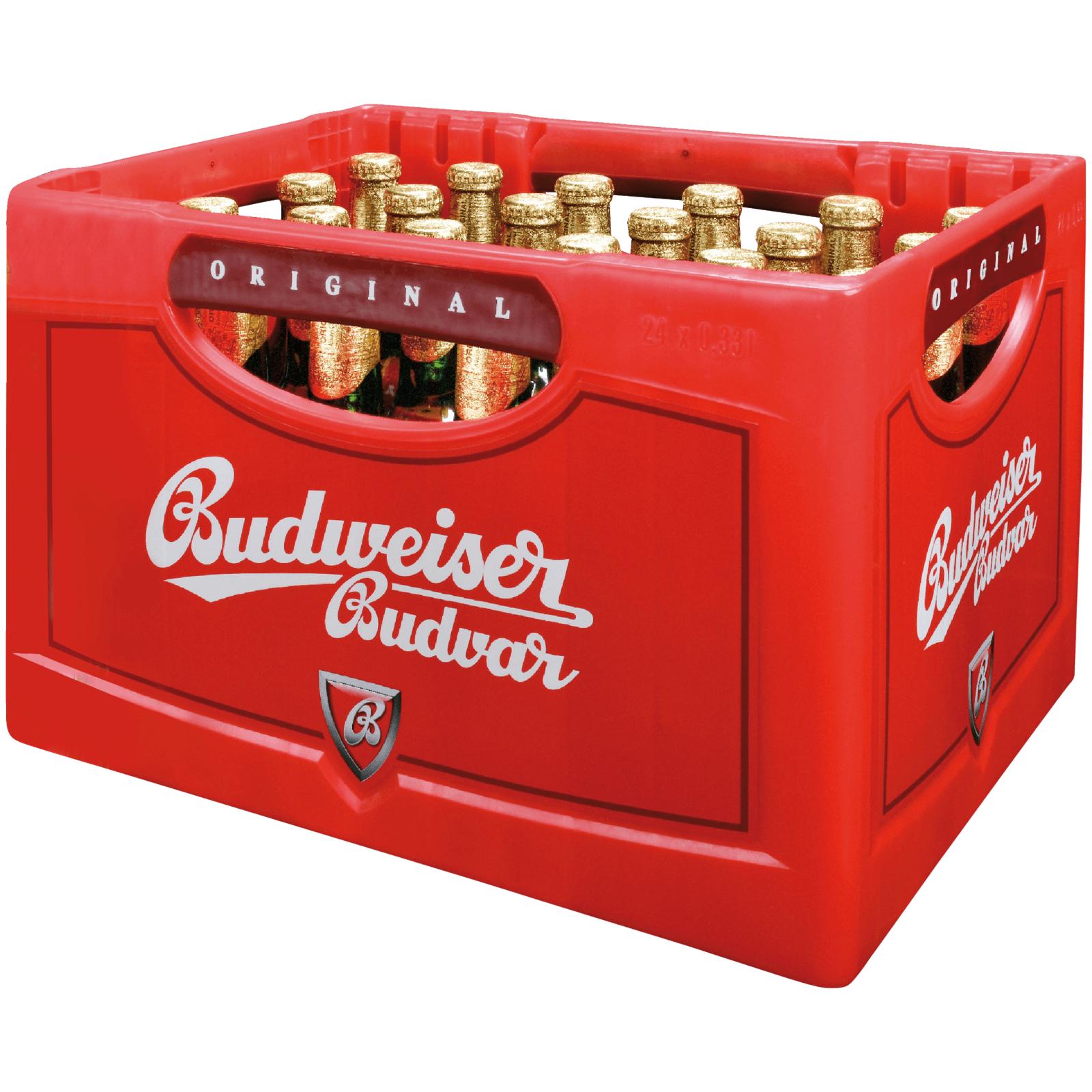 (Citti Maerkte) Kasten Budweiser 24*0,33 Flaschen fuer 11€