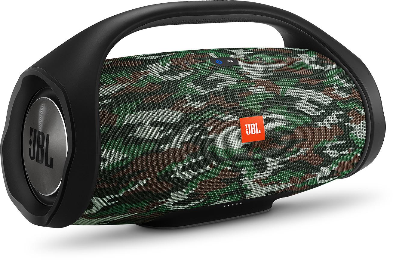 [eBay+] Bluetooth-Lautsprecher: JBL Boombox Camouflage - 251,91€ | JBL Xtreme 2 Ocean Blue - 164,91€ | JBL Pulse 4 - 158,31€
