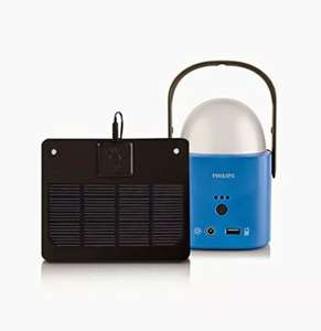 Philips LED Outdoor Camping Lampe Laterne Solar