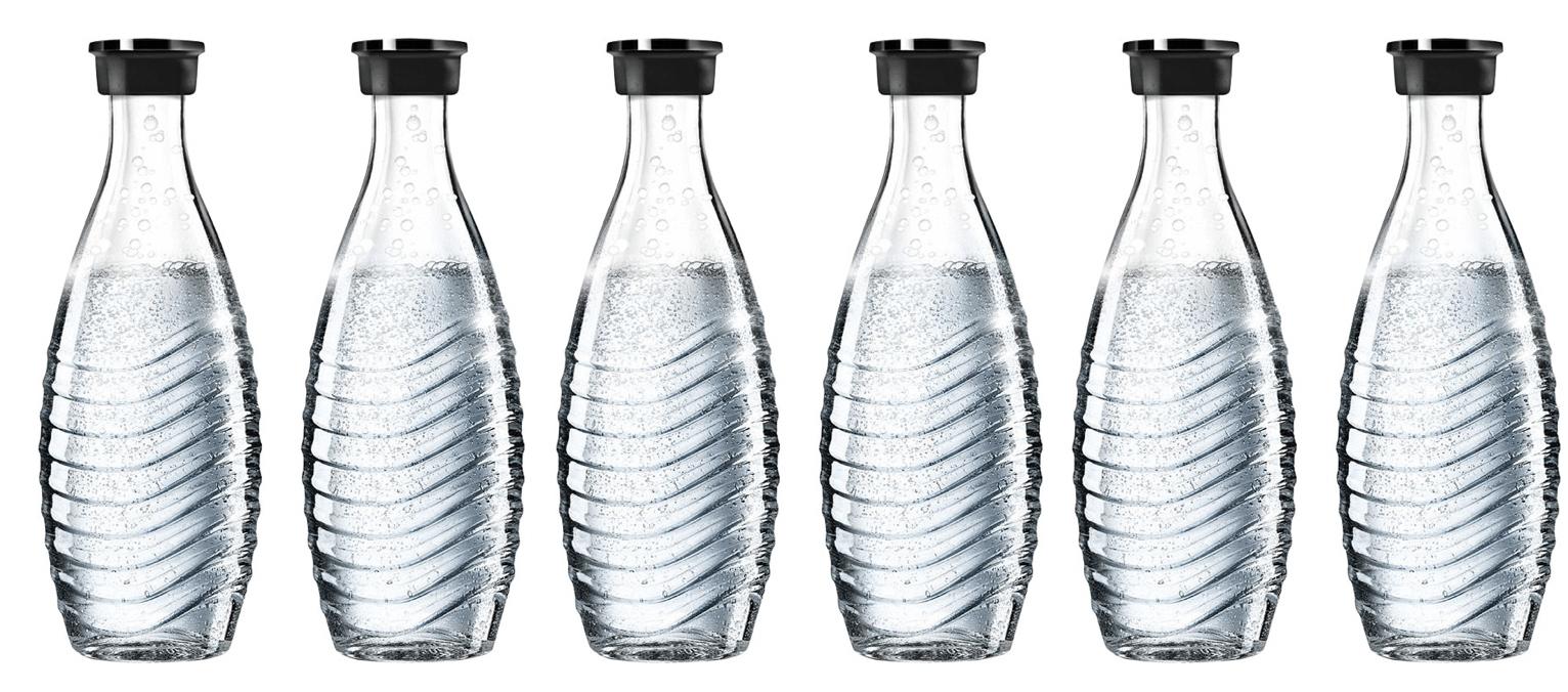 6x Sodastream Glaskaraffen 0,6L (Stückpreis: 7,50€) [eBay]