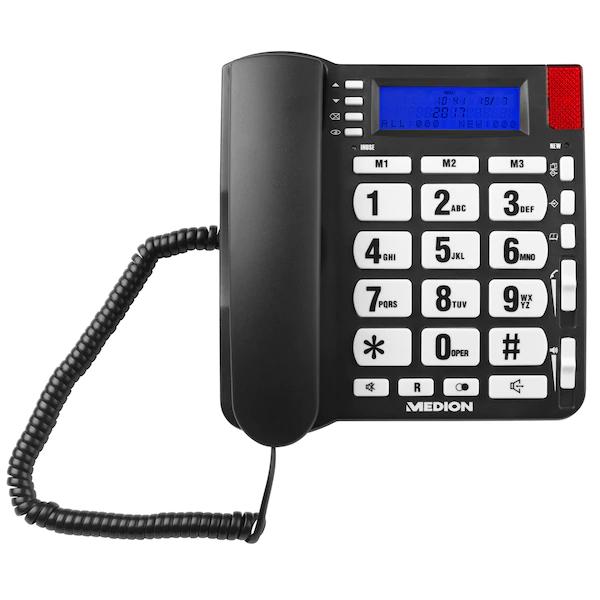 MEDION E63195 Großtasten-Telefon B-Ware