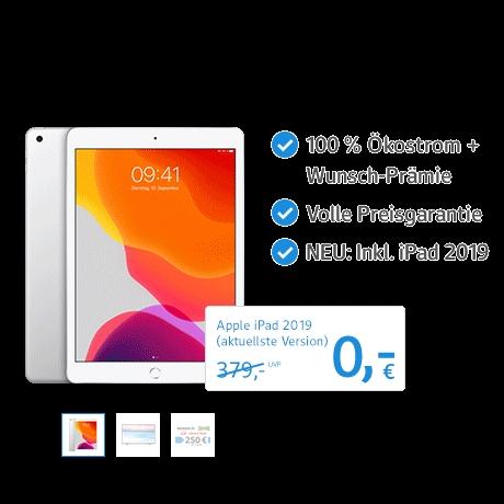 iPad geschenkt bei Stromwechsel mit web.de