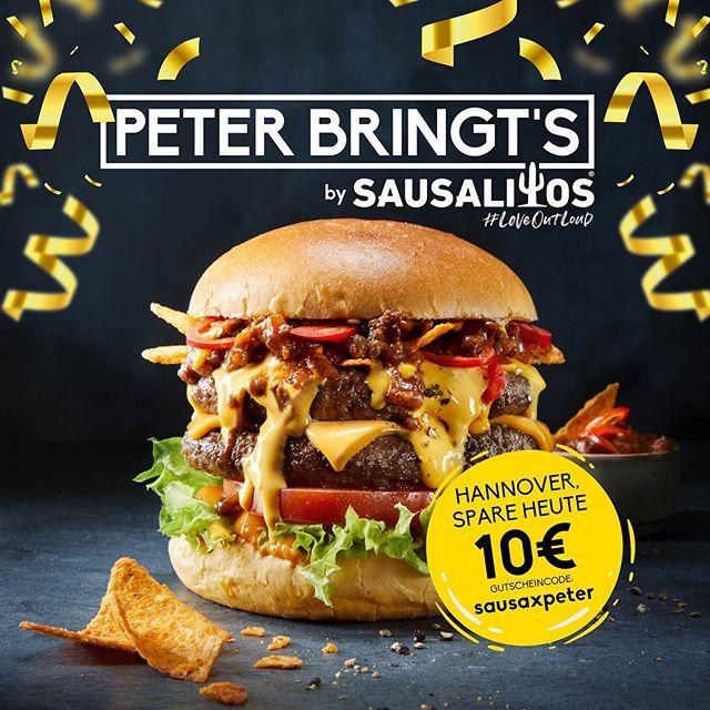 [Lokal Hannover] -10€ bei 15€ MBW Peter Pane Burger Lieferung