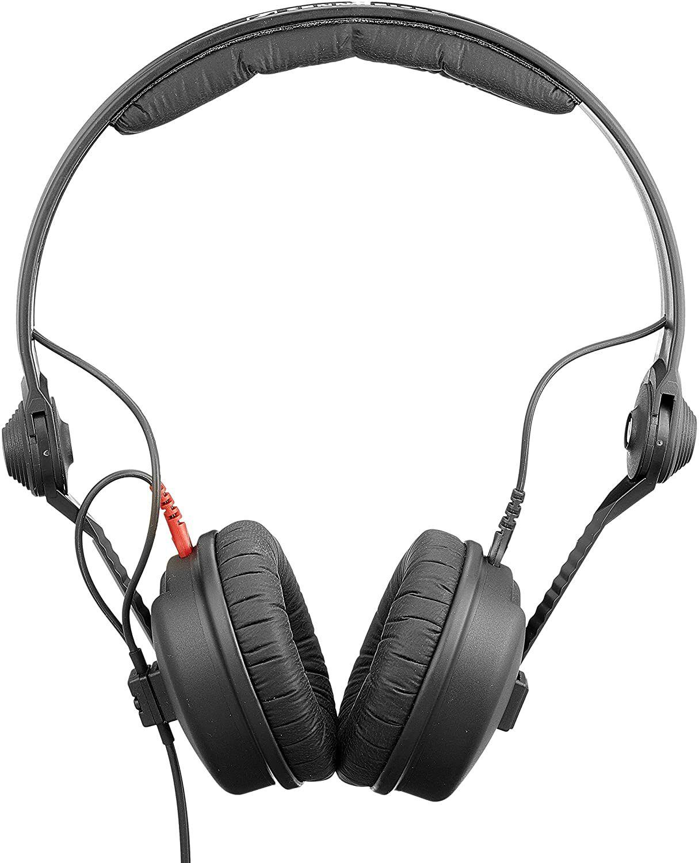 Sennheiser HD25-1 II: On-Ear Kopfhörer (Austauschbares Kabel, 16Hz - 22kHz, 70 Ohm, 200mW, 120dB)