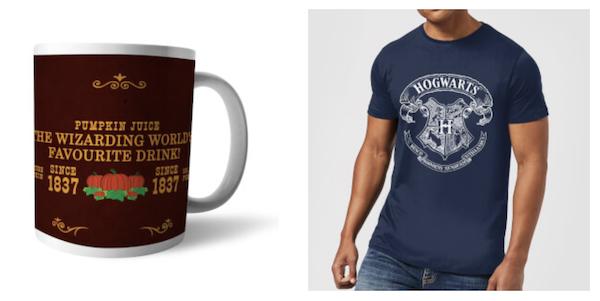 Harry Potter T-Shirt verschiedene Motive (S bis XXL) + Tasse für 11,48€ inkl. Versand