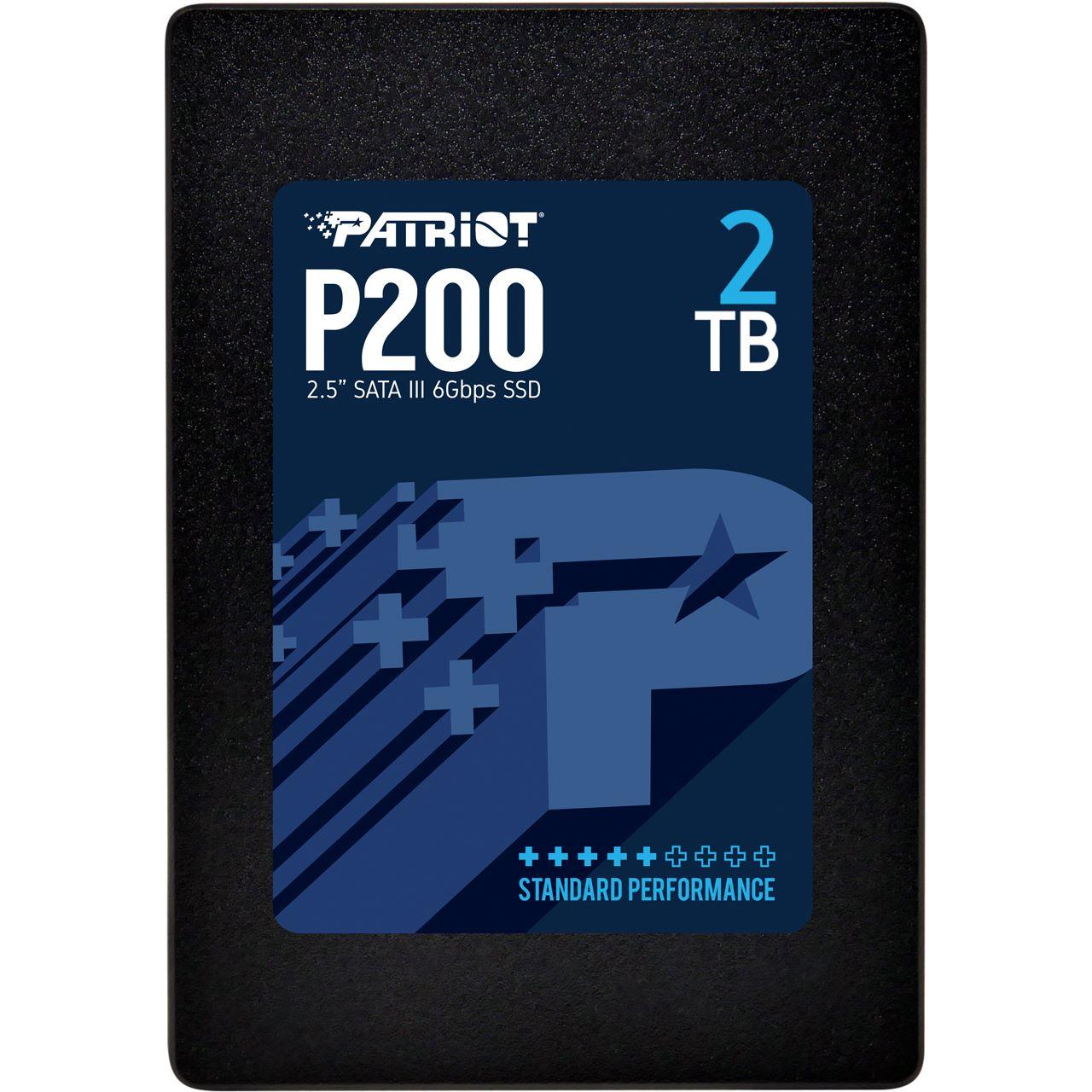 """2000GB Patriot P200 2,5"""" (6,4cm) SATA-III 6Gb/s (60 Stk auf Lager) ggf. Versandkostenfrei von 0-6 Uhr"""