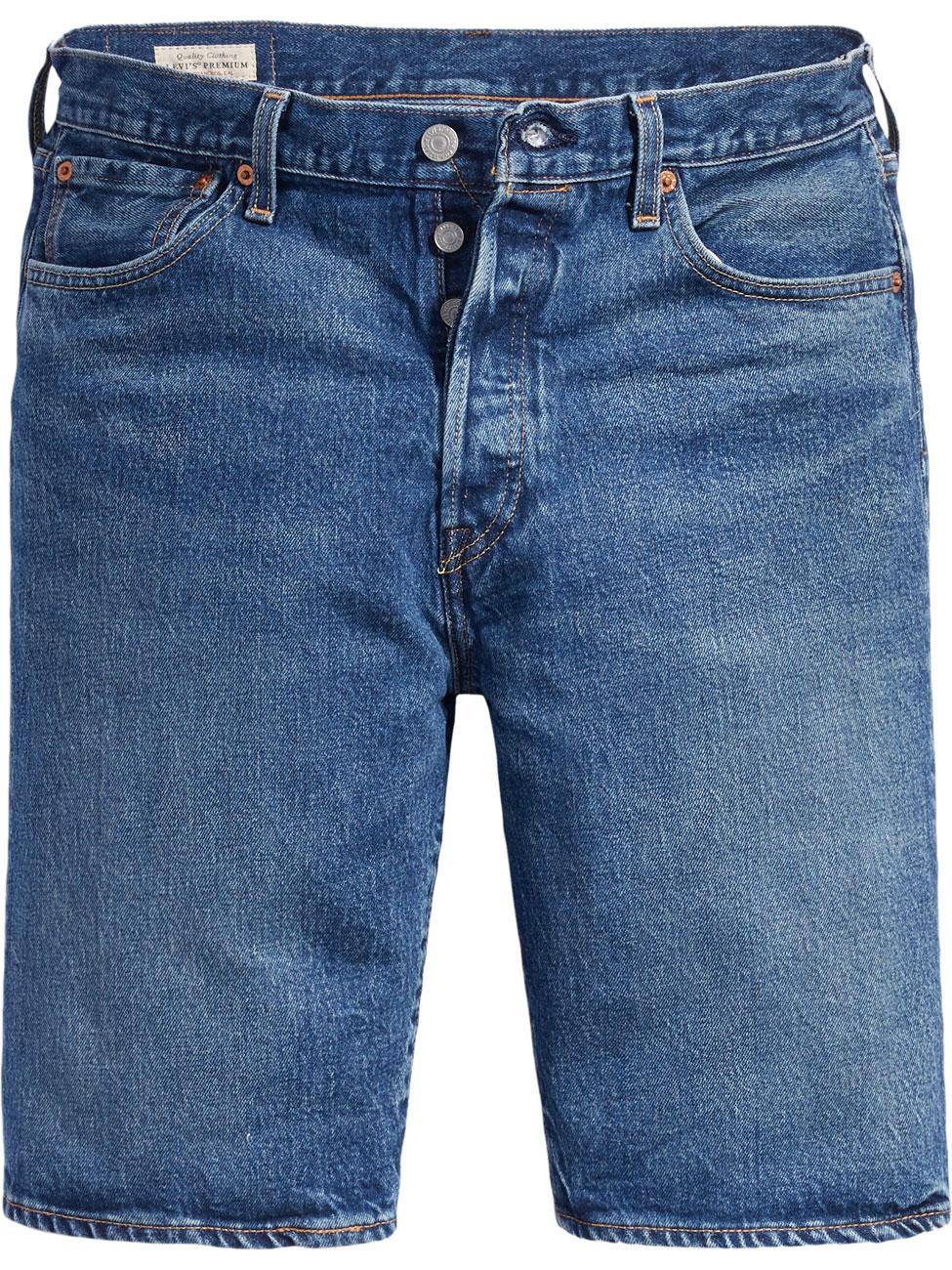 Levi's Jeansshorts 501®, gerade Passform, in 3 Waschungen