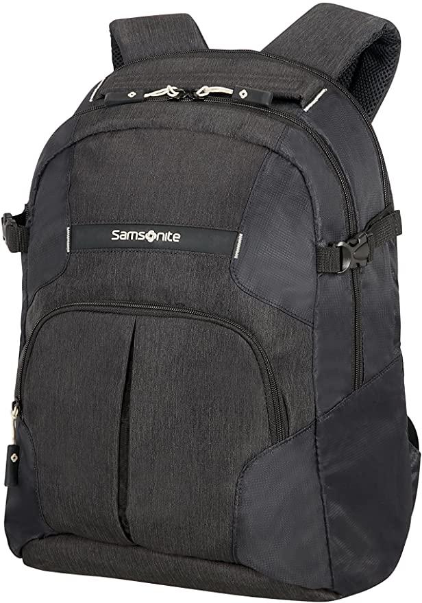Samsonite - Rewind - Rucksack M, 23 L, 44 cm, Black - Business Rucksack mit Laptop Fach