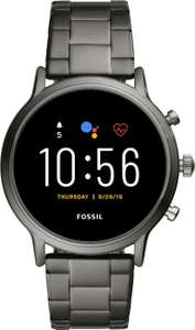 Fossil Carlyle (44mm, Edelstahl, Stahl, Onesize)