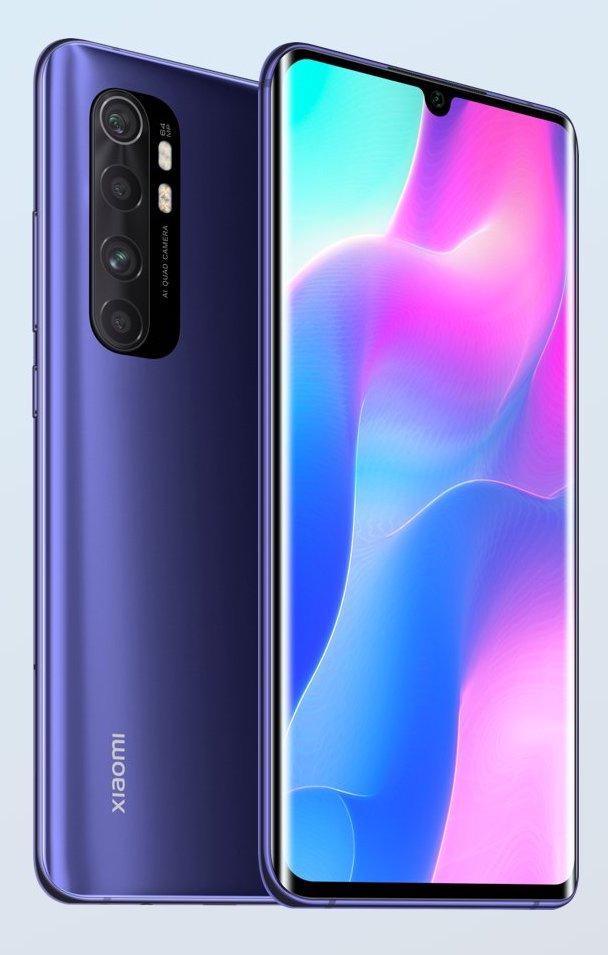 Xiaomi Mi Note 10 Lite 8GB/128GB Dual sim - Nebula Purple