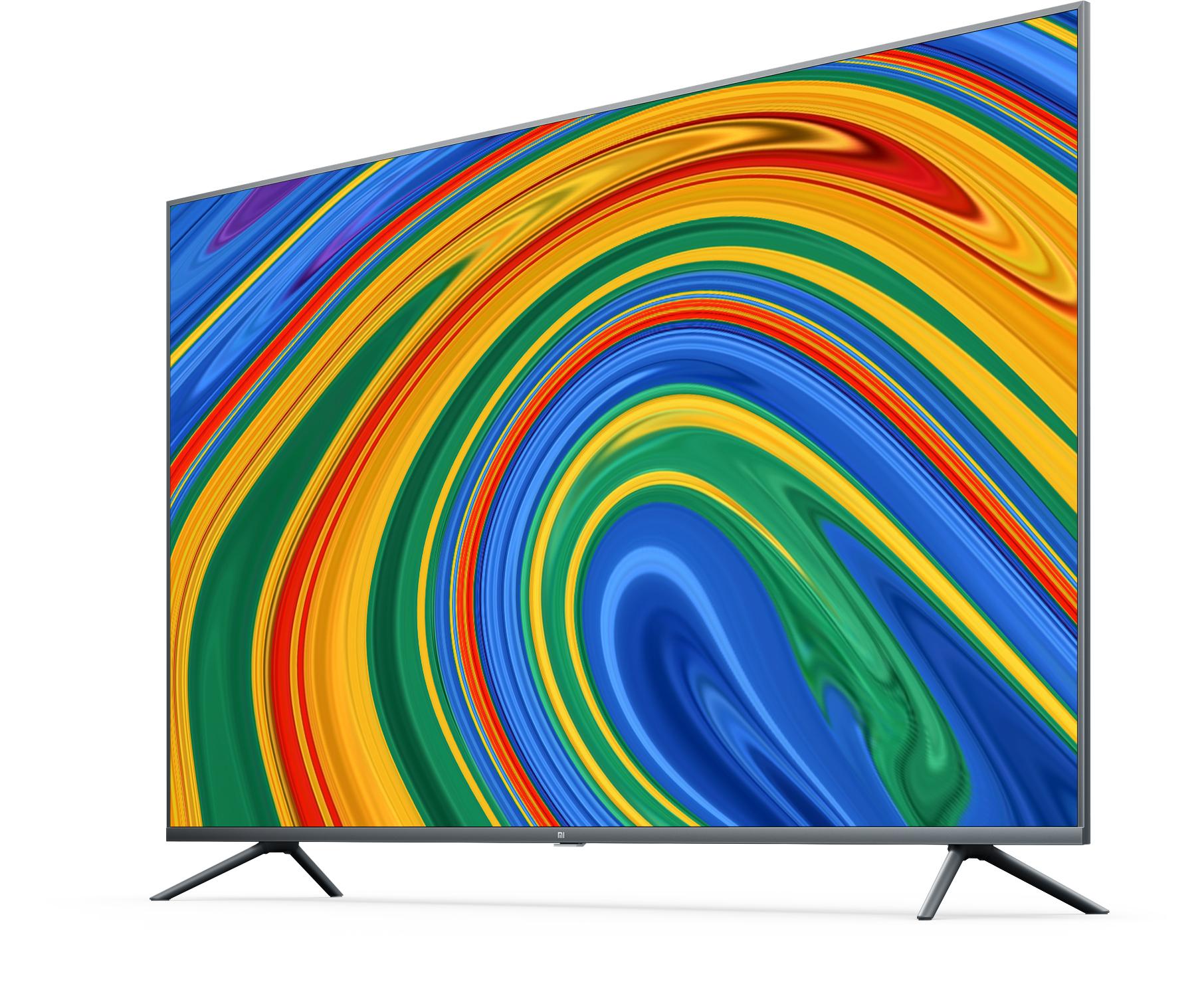 Jetzt endlich! :) - Xiaomi Mi Smart TV 4S 65 Zoll (4K Ultra HD, Triple Tuner, Android TV 9.0, BT-FB mit Mikrofon, Prime Video & Netflix)