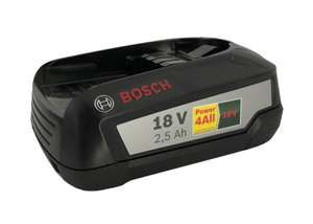 Bosch Akku 2,5Ah 18v Li-Ion Akku Home and Garden 1600A005B0