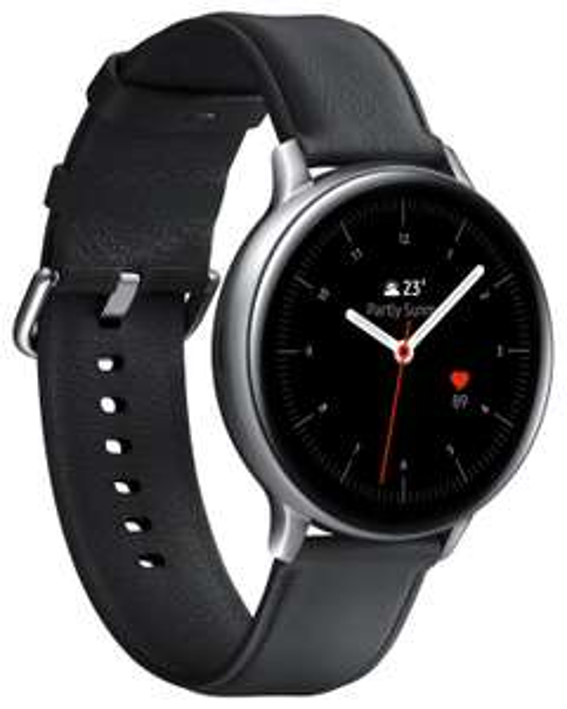 Samsung Galaxy Watch Sammeldeal   z.B: Active 2 (GPS/Glonass, Edelstahl, 44mm, Echtleder, Amoled Display)
