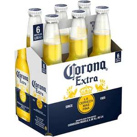 Mexikanisches Bier Corona Extra 6x0,355l (Lokal?)