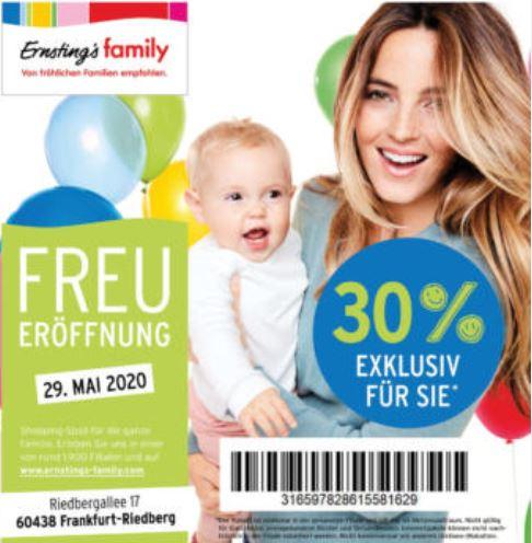 Ernsting's family Eröffnung FFM Riedberg