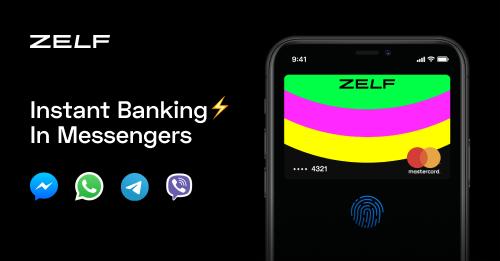 [Pre-Order/KwK] Zelf - Instant Geld per Messenger senden/empfangen. Mastercard virtuelll / physisch. 5€ Startbonus + 5€ je Seite per Invite.
