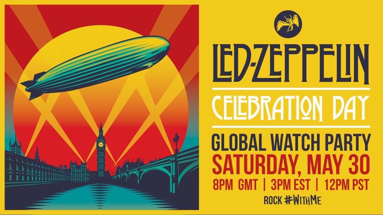 Led Zeppelin Reunion Show Celebration Day am Samstag kostenlos als Stream bei YT