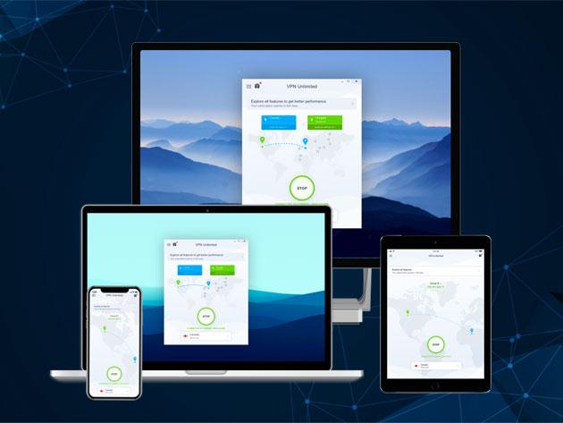 KeepSolid VPN Unlimited: lebenslanger, unlimitierter Zugang für 15,00$ (5User/Geräte)