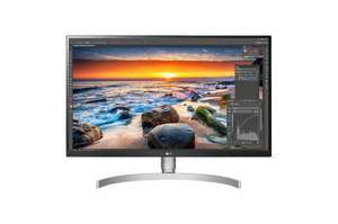 LG 27UL850-W - Monitore (Silber)