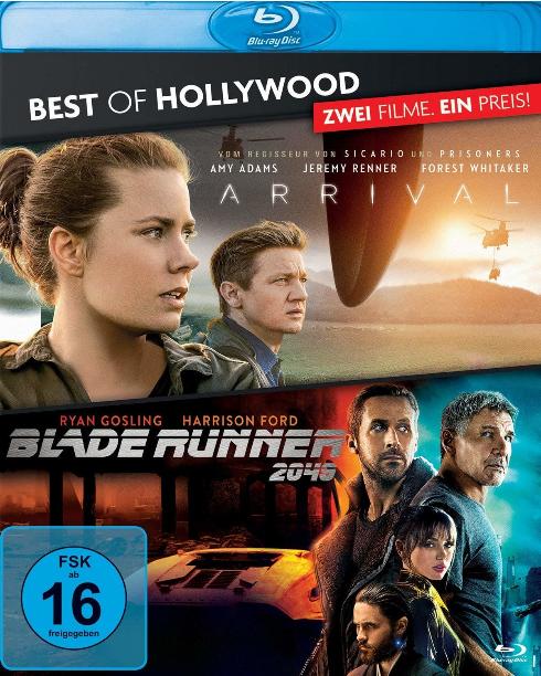Arrival + Blade Runner 2049 (Blu-ray) für 6,29€ & Spider-Man: Far From Home (3D Blu-ray) für 10,79€ (Amazon)