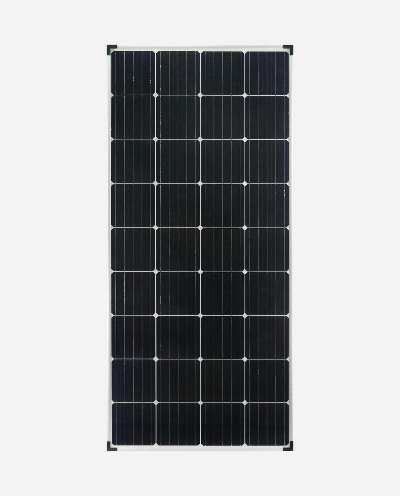 enjoysolar®Monokristallines Solarmodul Solarpanel 170W Mono 12V für unabhängige Stromerzeugung