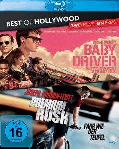 Baby Driver + Premium Rush Best of Hollywood Collection (2 Disc Blu-ray) für 6,29€ (Müller Abholung)