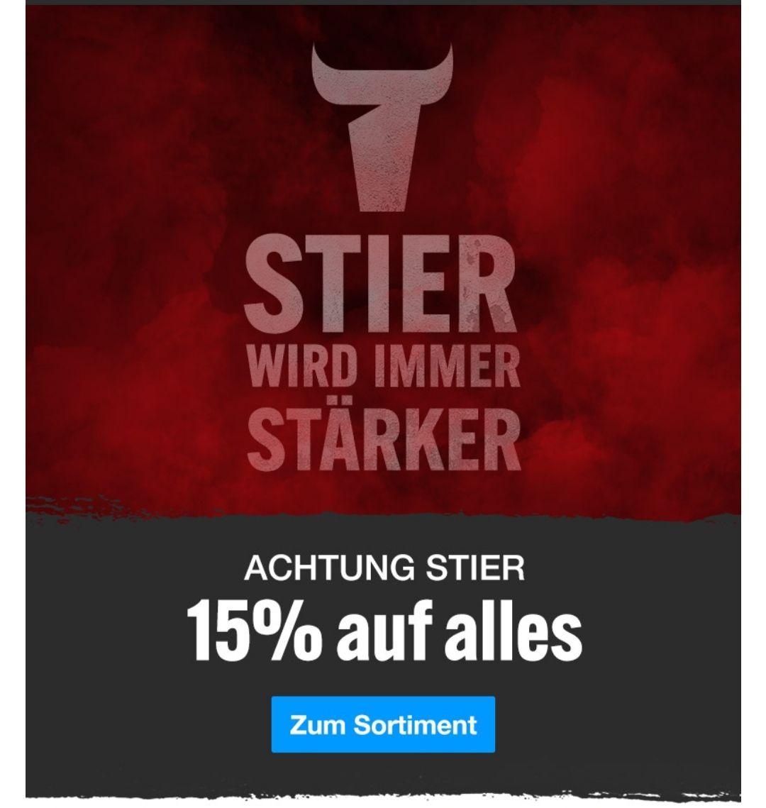 [Contorion] 15% auf ALLES von der Marke STIER