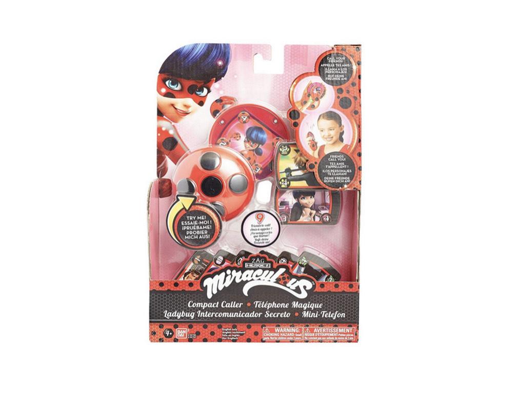 Bandai - Miraculous Zaubertelefon Ladybug