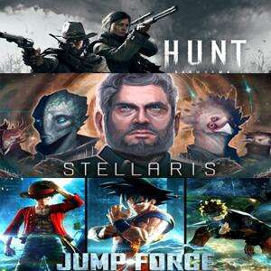 Hunt: Showdown, Stellaris: Console Edition & Jump Force (Xbox One) kostenlos spielen (Xbox Store Live Gold)