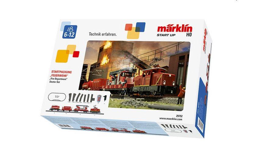 """Märklin (29752) Start up - Startpackung """"Feuerwehr"""" H0"""