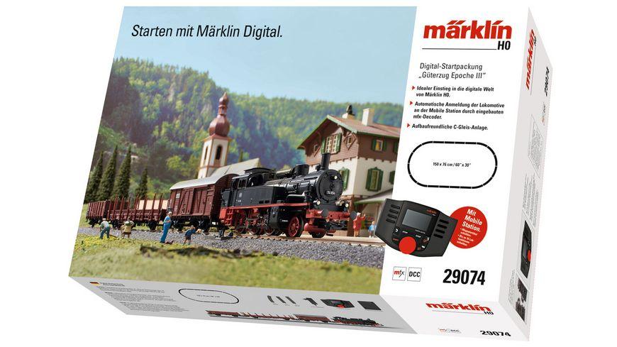 """Märklin (29074) Digital-Startpackung """"Güterzug Epoche III"""" H0"""