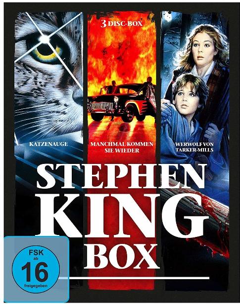 Stephen King Box (3x Blu-ray) für 9,97€ (Amazon)