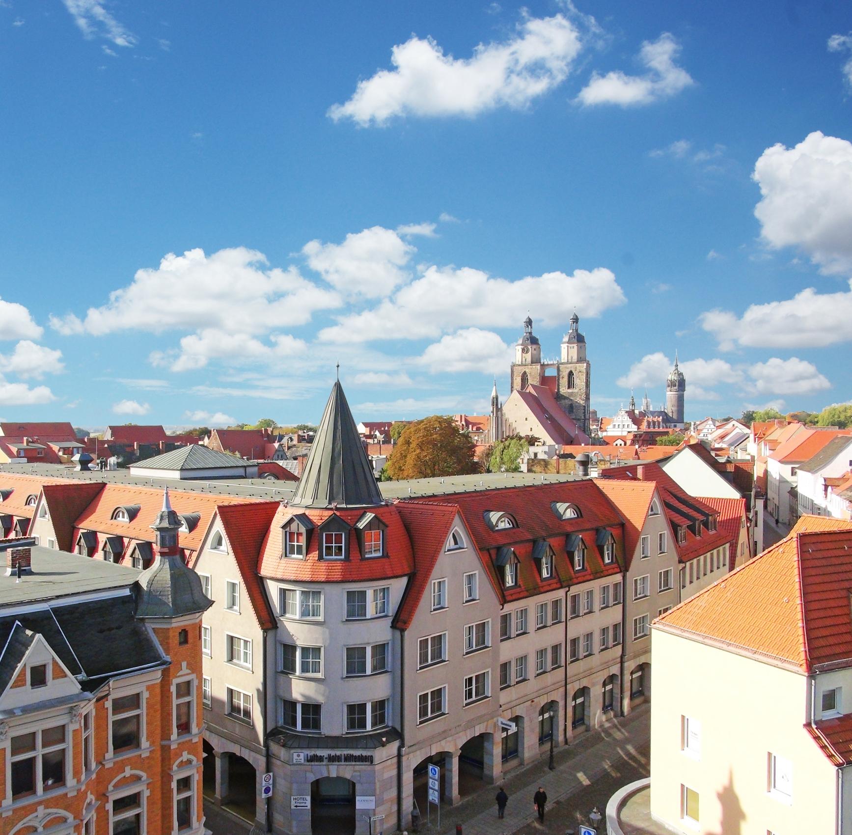 Welterbe Lutherstadt Wittenberg: 4*Hotel - DZ 2 Pers. inkl. Früh., 1x Dinner für 2, Eintritt Klosterkirche - bis Dez. - EZ 2 Nächte/110€