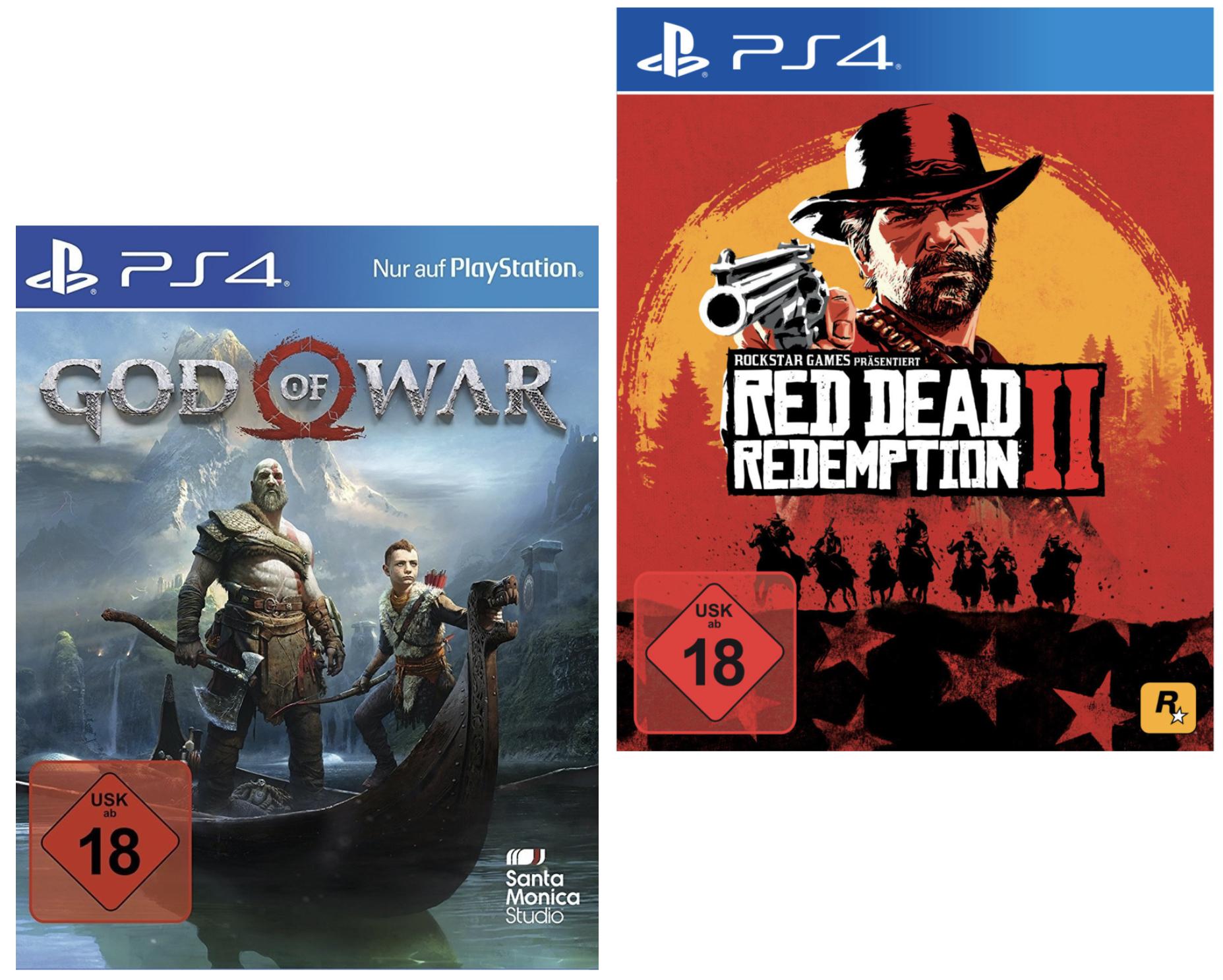 God of War PS4 für 13,49€ / Red Dead Redemption 2 PS4 für 16,19€ und weitere Artikel mit Visacard [Click & Collect]