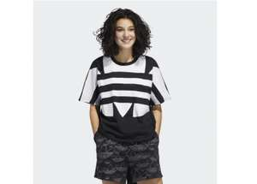 Adidas Damen LARGE LOGO T-SHIRT (Gr. S - 2XL) für 15,28€