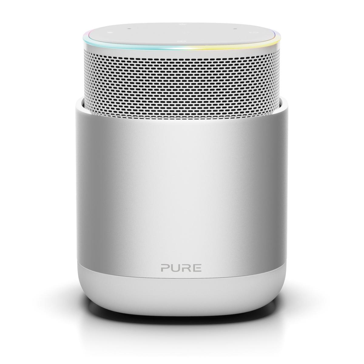 Pure DiscovR Portabler Smart Speaker mit überzeugendem Sicherheits-Feature