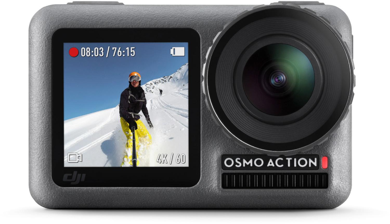 DJI Osmo Action Cam Digitale 4K Actionkamera 2 Bildschirme (Amazon.fr)