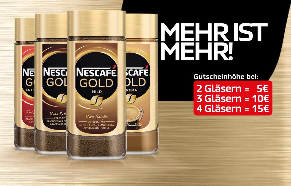 lokal Nescafé Gold 200Gramm, LIDL eff. 2,24€!