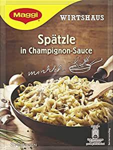 Maggi Wirtshaus Spätzle in Champignon-Sauce - Amazon