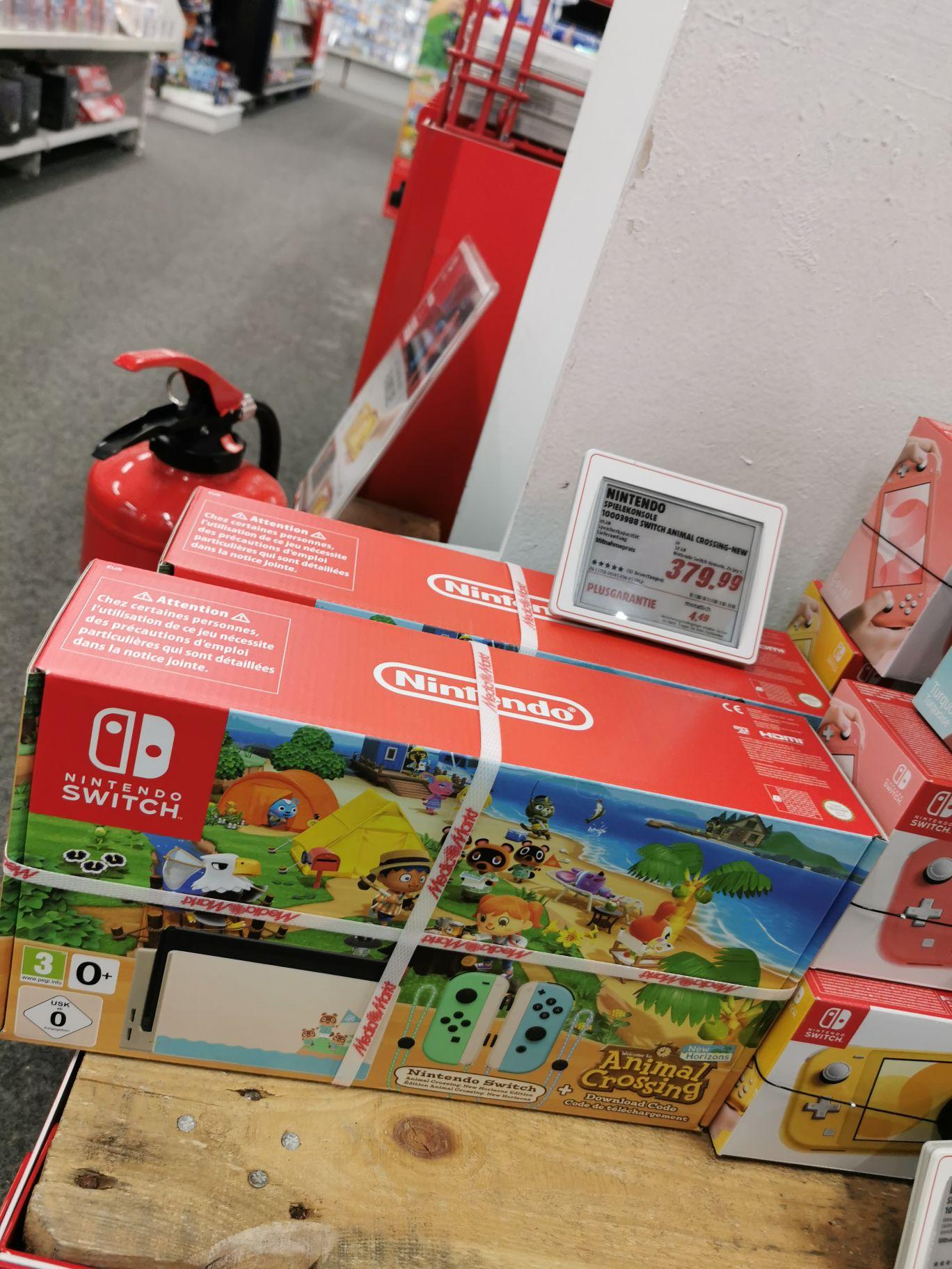 (Media Markt Lokal Hamburg Hummelsbüttel) Nintendo Switch Animal Crossing New Horizons Edition