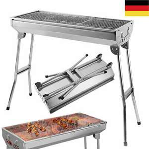 Grill BBQ Holzkohlegrill Standgrill