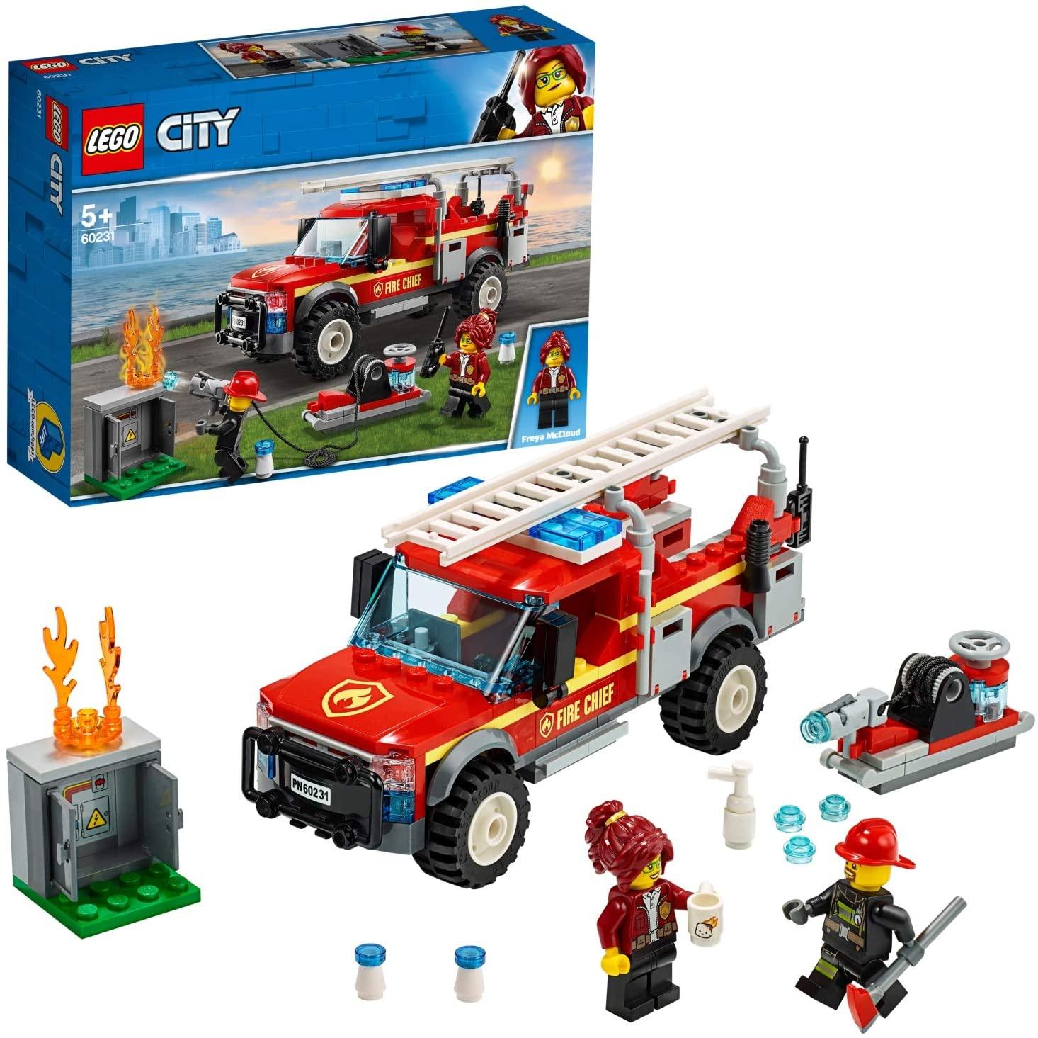 LEGO City 60231 Feuerwehreinsatzleitung (für Prime Kunden VSK frei)