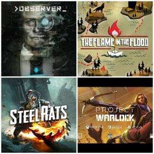 (Twitch Prime) The Flame in the Flood, Observer, Steel Rats, Forsaken Remastered & Project Warlock (PC) kostenlos