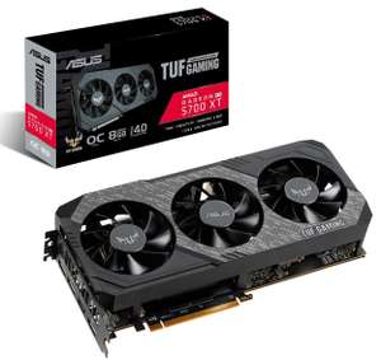 ASUS Radeon 5700 XT TUF Gaming OC bei Media Markt / Saturn (30€ ASUS Cashback bis 30.05.)
